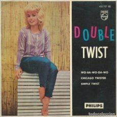 Discos de vinil: EDDY TWISTER, DOUBLE TWIST +3 (PHILIPS 1962). Lote 176988439