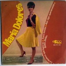 Discos de vinilo: MARÍA DOLORES. LA MUÑECA QUE HACE NO/ CARA BONITA/ AÚN SIGO QUERIÉNDOTE/ BELÉN, BELÉN. EKIPO 1966 EP. Lote 176993307