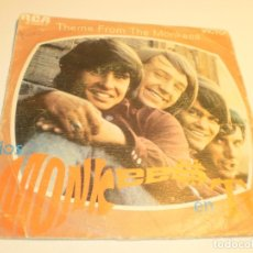 Discos de vinilo: SINGLE THE MONKEES EN TV. THEME FROM THE MONKEES. LAST TRAIN TO CLARSVILLE. RCA 1968 SPAIN (PROBADO). Lote 176994225