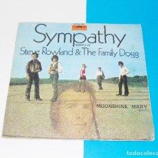 Discos de vinilo: STEVE ROWLAND & THE FAMILY DOGG ---SYMPATHY -- ORIGINAL AÑO 1971 / POLYDOR 20 01 007---VG ++. Lote 176999122