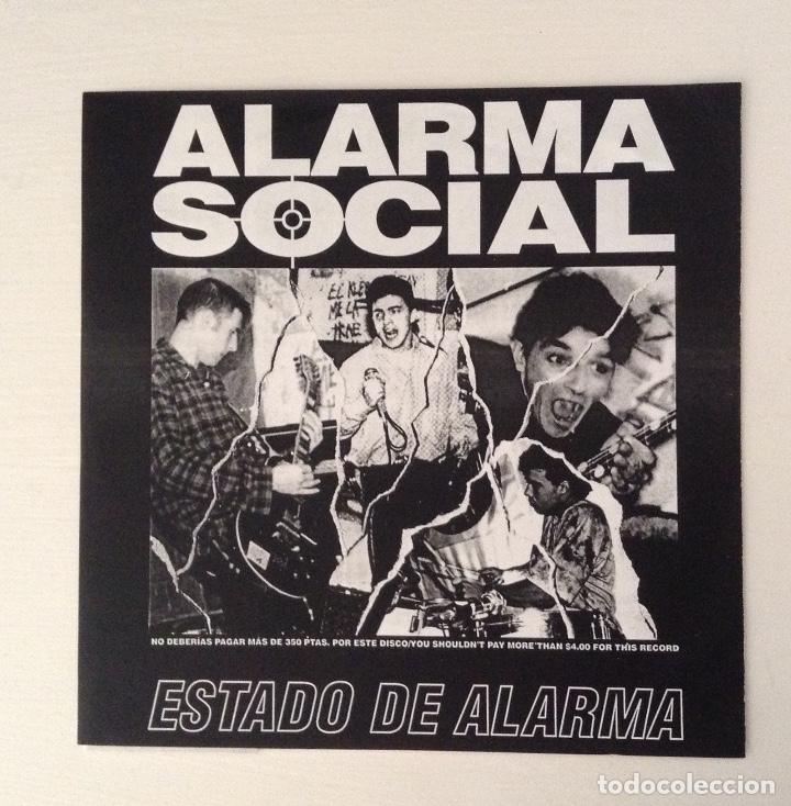 ALARMA SOCIAL ESTADO DE ALARMA 7INCH FRAGMENT MUSIC - RUMBLE REKORDS (Música - Discos de Vinilo - EPs - Punk - Hard Core)