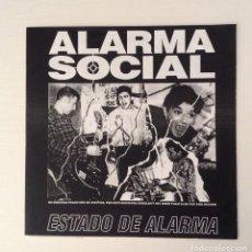 Discos de vinilo: ALARMA SOCIAL ESTADO DE ALARMA 7INCH FRAGMENT MUSIC - RUMBLE REKORDS. Lote 177003232