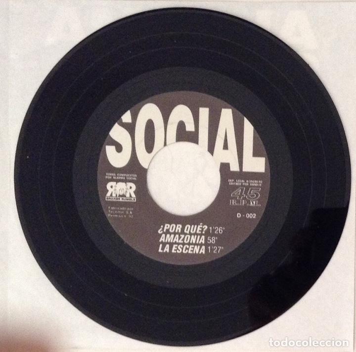 Discos de vinilo: ALARMA SOCIAL estado de alarma 7inch FRAGMENT MUSIC - RUMBLE REKORDS - Foto 3 - 177003232