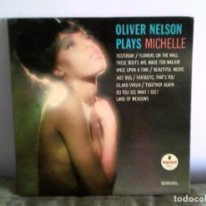 Discos de vinilo: OLIVER NELSON - PLAYS MICHELLE LP MUSICA VINILO 1ª EDICION AMERICANA (1966). Lote 177003743