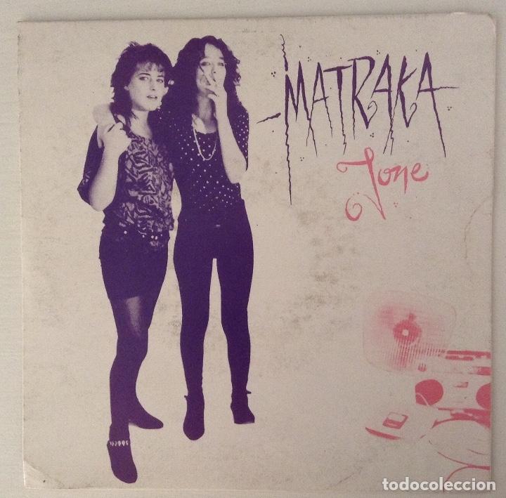 MATRAKA SINGLE JONE OHIUKA CON HOJA PROMOCIONAL (Música - Discos - Singles Vinilo - Punk - Hard Core)