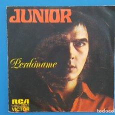 Discos de vinilo: SINGLE / JUNIOR / PERDÓNAME - THE SNAKE / 1973. Lote 177011704