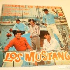 Discos de vinilo: LOS MUSTANG. CATEDRAL WINCHESTER. VERÁS QUE ES VERDAD. DANDY. BALADA. EMI 1967 SPAIN. Lote 177014015