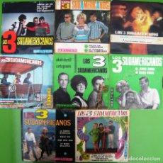 Discos de vinilo: LOTE 8 SINGLES DE LOS 3 SUDAMERICANOS. Lote 177015479