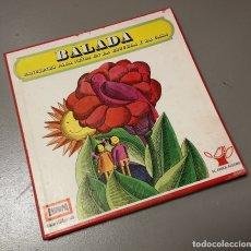 Discos de vinilo: NUMULITE LP048 BALADA CANCIONES PARA NIÑOS EN LA ESCUELA Y LA CASA. Lote 177020140