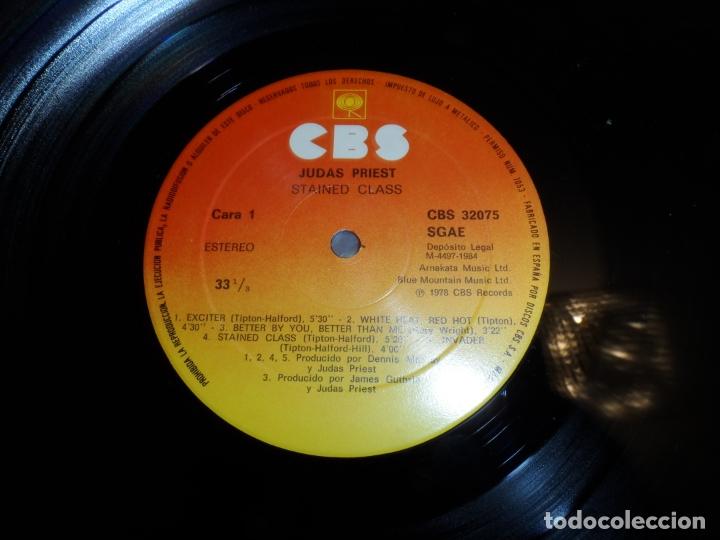 Discos de vinilo: JUDAS PRIEST - STAINED CLASS (SPAIN 1984) - Foto 3 - 177025277