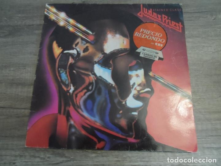 JUDAS PRIEST - STAINED CLASS (SPAIN 1984) (Música - Discos - LP Vinilo - Heavy - Metal)