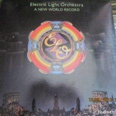 Discos de vinilo: ELECTRIC LIGHT ORCHESTRA - A NEW WORLD RECORD LP - ORIGINAL U.S.A. JET 1976 CON FUNDA INT. ORIGINAL. Lote 177041759