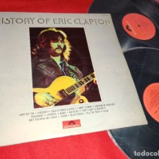 Discos de vinilo: ERIC CLAPTON HISTORY OF ERIC CLAPTON 2LP 1972 POLYDOR EDICION ESPAÑOLA SPAIN GATEFOLD. Lote 177046262