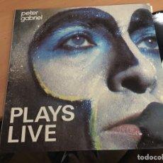 Discos de vinilo: PETER GABRIEL ( PLAYS LIVE) 2 LP 1983 ESPAÑA (B-6). Lote 177047059