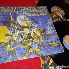 Discos de vinilo: IRON MAIDEN LIVE AFTER DEATH 2LP 1985 EMI EDICION ESPAÑOLA SPAIN. Lote 177047244