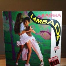 Discos de vinilo: KAOMA : LAMBADA VINILO 12 MAXI SINGLE 1989 EPIC ESPAÑA VERSION ORIGINAL : VERSION MAXI ESTADO: VG/VG. Lote 177049104
