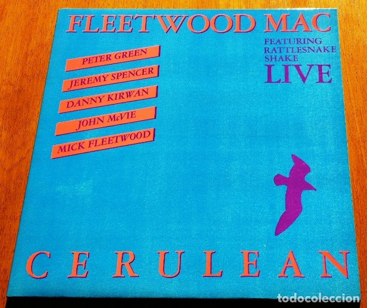 FLEETWOOD MAC-CERULEAN UK 60'S BRITISH BLUES ORIGINAL DOBLE LP (Música - Discos - LP Vinilo - Pop - Rock Extranjero de los 50 y 60)
