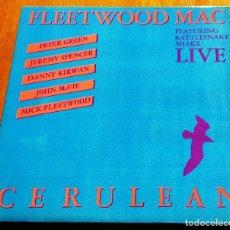 Discos de vinilo: FLEETWOOD MAC-CERULEAN UK 60'S BRITISH BLUES ORIGINAL DOBLE LP . Lote 177064528