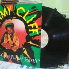 Discos de vinilo: JIMMY CLIFF - SAVE OUR PLANET EARTH LP 1990 PEPETO. Lote 177065340