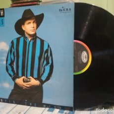 Discos de vinilo: GARTH BROOKS ROPIN THE WIND -LP EDICION ESPAÑOLA 1992.. Lote 177065658