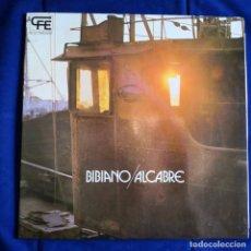 Discos de vinilo: BIBIANO / ALCABRE.- LP VINILO.- EXCELENTE ESTADO. Lote 177068415