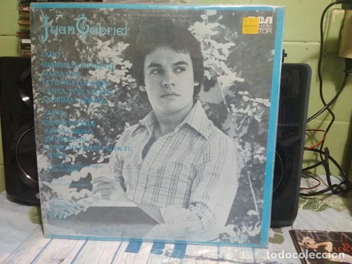 Discos de vinilo: JUAN GABRIEL SIEMPRE EN MI MENTE MARIA JOSE LP MEXICO 1978 PEPETO - Foto 3 - 177068463