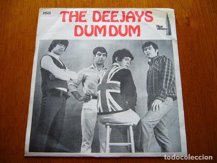 DEEJAYS-DUM DUM 1966 UK BEAT SINGLE ORIGINAL SUECO (Música - Discos de Vinilo - Maxi Singles - Pop - Rock Extranjero de los 50 y 60)