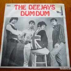 Discos de vinilo: DEEJAYS-DUM DUM 1966 UK BEAT SINGLE ORIGINAL SUECO. Lote 177068922