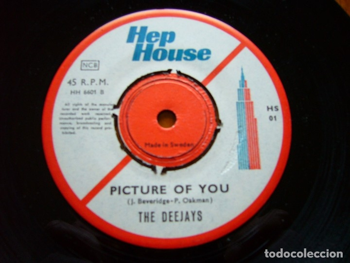 Discos de vinilo: DEEJAYS-DUM DUM 1966 UK BEAT SINGLE ORIGINAL SUECO - Foto 4 - 177068922