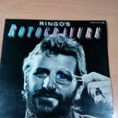 Discos de vinilo: RINGO STARR - LP RINGO'S RETROGRAVURE - 1976- BUEN ESTADO INCLUYE ENCARTES - VER FOTOS. Lote 177071555