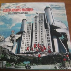 Discos de vinilo: LAURENT GARNIER - THE CLOUD MAKING MACHINE ***** LP DOBLE F COMMUNICATIONS, IMPECABLE!. Lote 177074739