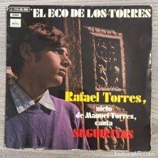 Discos de vinilo: RAFAEL TORRES - EL ECO DE LOS TORRES - SEGUIRIYAS - 1971. Lote 177087337