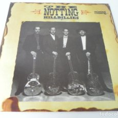 Discos de vinilo: LP THE NOTTING HILLBILLIES (MISSING...PRESUMED HAVING A GOOD TIME) PHONOGRAM-1990 (EXCELENTE ESTADO). Lote 177112299