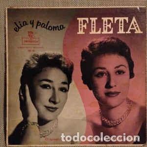 HERMANAS FLETA ELIA Y PALOMA FLETA - MONTILLA, MONTILLA FM-91, FM 91 LP - 1958 (Música - Discos - LP Vinilo - Otros estilos)