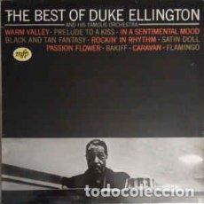 Discos de vinilo: THE BEST OF DUKE ELLINGTON AND HIS FAMOUS ORCHESTRA - MUSIC FOR PLEASURE 10C 046-081.691- LP. Lote 177112505