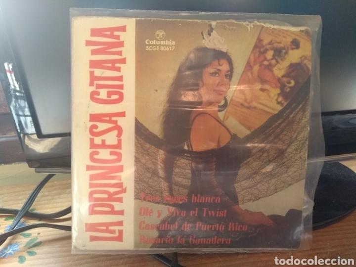 LA PRINCESA GITANA LEER ANTES (Música - Discos de Vinilo - EPs - Flamenco, Canción española y Cuplé)