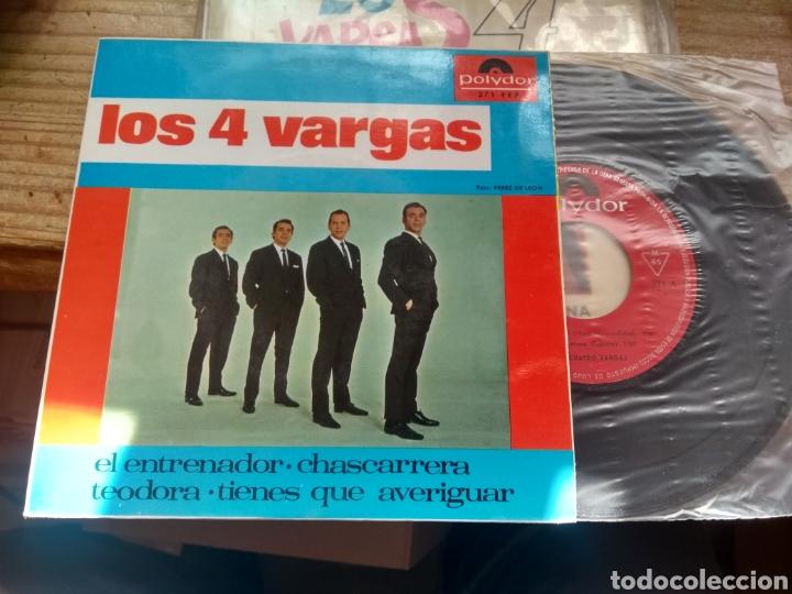 LOS 4 VARGAS EXCELENTE ESTADO (Música - Discos de Vinilo - EPs - Flamenco, Canción española y Cuplé)