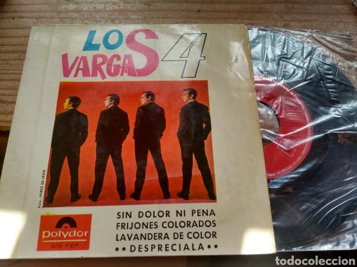 LOS 4 VARGAS (Música - Discos de Vinilo - EPs - Flamenco, Canción española y Cuplé)