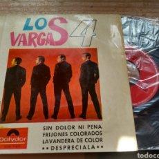 Discos de vinilo: LOS 4 VARGAS. Lote 177113497