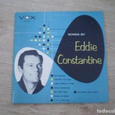 Discos de vinilo: EP 10 PULGADAS. EDDIE CONSTANTINE. AÑOS 50. MUY BUENA CONSERVACION. Lote 177113539