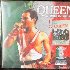 Discos de vinilo: QUEEN - WORKS IN MILAN - 2 LP, ED. LIMITADA DE 300 COPIAS, VINILO ROJO, MILAN 1984. Lote 177113973