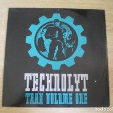 Discos de vinilo: TECHNOLYT. TRAX VOLUME ONE. AÑO 1991. Lote 177114687