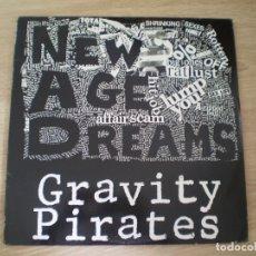 Discos de vinilo: LP. GRAVITY PIRATES. NEW AGE DREAMS. AÑO 1987. MUY BUENA CONSERVACION. Lote 177115272