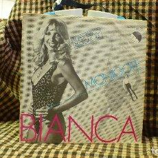 Discos de vinilo: BIANCA -- MONIGOTE / QUE IMPORTA QUE MAS DA, EMI 1980.. Lote 177116273