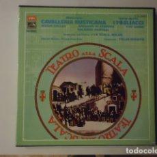 Discos de vinilo: CAVALLERIA RUSTICANA / I PAGLIACCI. Lote 177117940