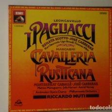 Discos de vinilo: CAVALLERIA RUSTICANA / I PAGLIACCI. Lote 177117987