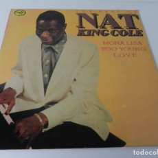 Discos de vinilo: LP THE BEST OF NAT KING COLE (EDITADO POR EMI-ODEON-1982 ( EN MUY BUEN ESTADO). Lote 177121158