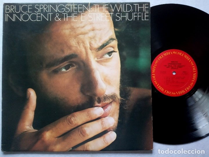 BRUCE SPRINGSTEEN - THE WILD THE INNOCENT & THE E STREET - LP USA - COLUMBIA (Música - Discos - LP Vinilo - Pop - Rock - New Wave Extranjero de los 80)