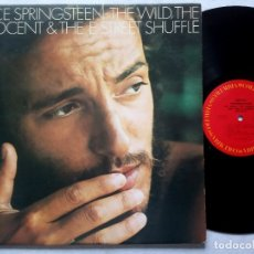Discos de vinilo: BRUCE SPRINGSTEEN - THE WILD THE INNOCENT & THE E STREET - LP USA - COLUMBIA. Lote 177122553