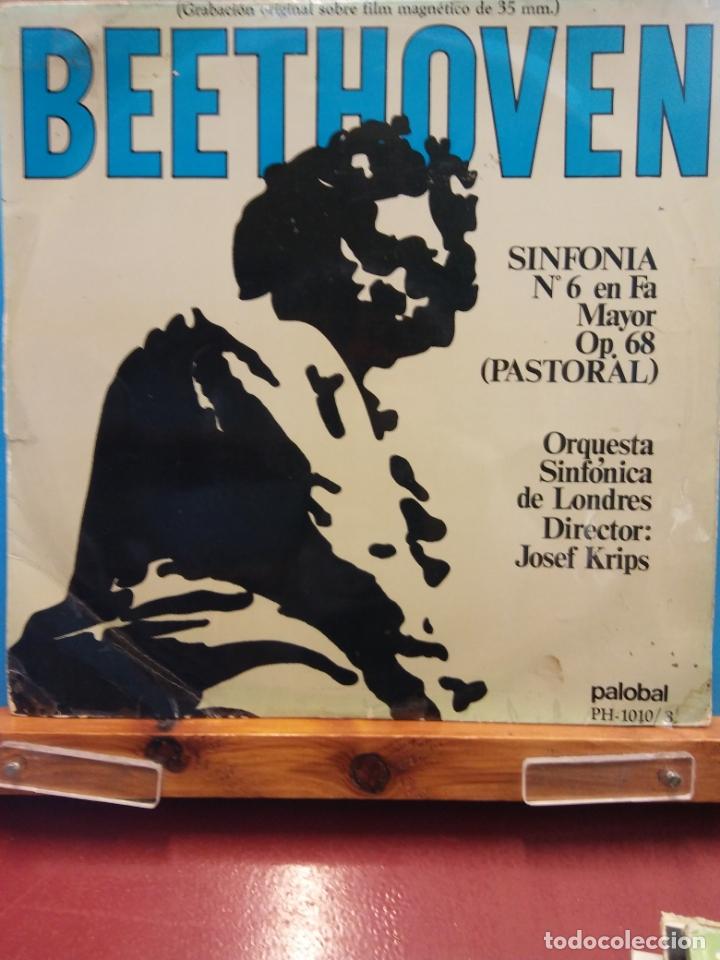 BEETHOVEN. SINFONIA Nº 6 EN FA MAYOR OP 68 PASTORAL. ORQUESTA SINFÓNICA DE LONDRES (Música - Discos - LP Vinilo - Clásica, Ópera, Zarzuela y Marchas)